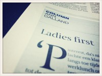 Ladies First by Ann Galland